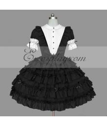 Black Gothic Lolita Dress -LTFS0138