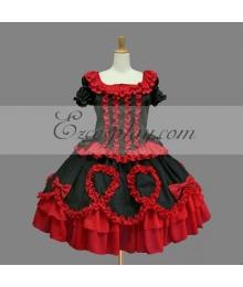 Red Gothic Lolita Dress -LTFS0148