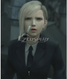 Final Fantasy VII: Advent Children FF7 Elena Golden Cosplay Wig