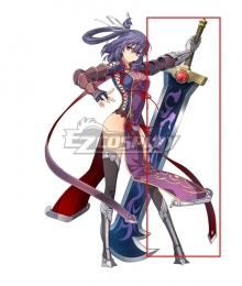 The Legend of Heroes: Zero no Kiseki Yin Sword Cosplay Weapon Prop