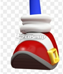 Sonic Sonic Red Cosplay Shoes