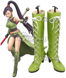 Dragon Quest XI: Echoes of an Elusive Age DQ11 Martina Green Cosplay Shoes