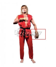 Street Fighter Ken Masters Gloves Cosplay Accessory Prop