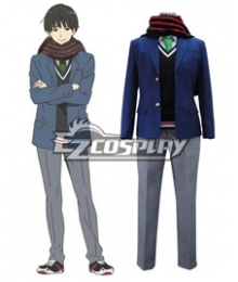 Beyond the Boundary Kyokai no Kanata Hiroomi Nase Cosplay Costume