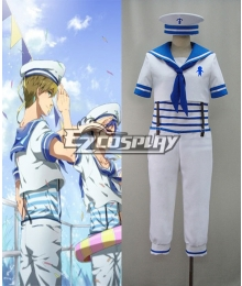 Free! Iwatobi Swim Club Haruka Nanase Sailor Suit Cosplay Costume