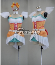 LOVE LIVE2 Love wing bell/Dancing stars on me! Organge Cosplay Costume