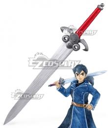 Ni No Kuni II: Revenant Kingdom Roland Sword Cosplay Weapon Prop