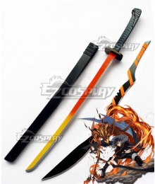 Arknights Flamebringer Sword Cosplay Weapon Prop