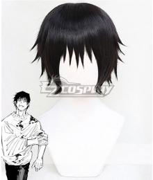 Jujutsu Kaisen Sorcery Fight Toji Fushiguro Black Cosplay Wig