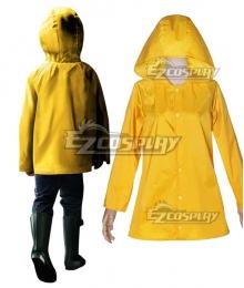 2017 New Stephen King's It Georgie Denbrough Yellow Raincoat Cosplay Costume
