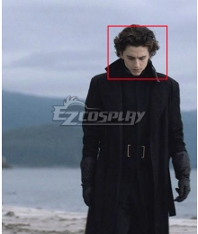 2020 Dune Paul Atreides Black Cosplay Wig