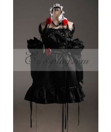 Vocaloid Miku Short dress Cosplay Costume-Advanced Custom