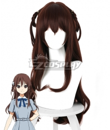 22/7 Ayaka Tachikawa Brown Cosplay Wig - 498D