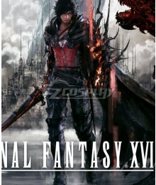 Final Fantasy XVI FF16 Clive Rosfield Time Skip Cosplay Costume
