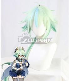 Genshin Impact Sucrose Green Cosplay Wig