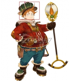 Atelier Sophie: The Alchemist of the Mysterious Book Oskar Behlmer Brown Cosplay Wig