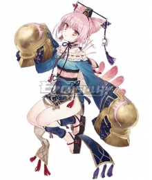 Atelier Sophie: The Alchemist of the Mysterious Book Corneria Blue Cosplay Costume