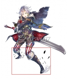 Atelier Sophie: The Alchemist of the Mysterious Book Julio Sebald Leidenschaft Black Shoes Cosplay Boots