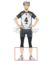Haikyuu!! Kōtarō Bokuto White Cosplay Shoe