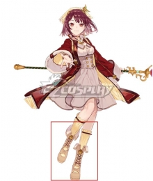 Atelier Sophie: The Alchemist of the Mysterious Book Sophie Neuenmuller A18 Brown Shoes Cosplay Boots