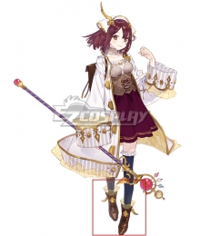 Atelier Sophie: The Alchemist of the Mysterious Book Sophie Neuenmuller A19 Brown Shoes Cosplay Boots