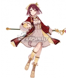 Atelier Sophie: The Alchemist of the Mysterious Book Sophie Neuenmuller A18 Cosplay Costume