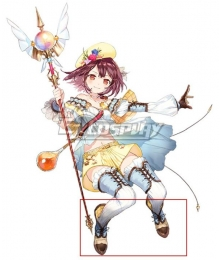 Atelier Sophie: The Alchemist of the Mysterious Book Sophie Neuenmuller A20 Brown Black Cosplay Shoes
