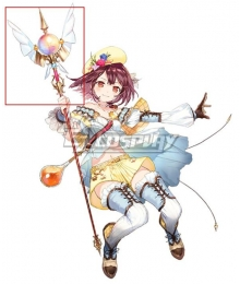 Atelier Sophie: The Alchemist of the Mysterious Book Sophie Neuenmuller A20 Stave Cosplay Weapon Prop