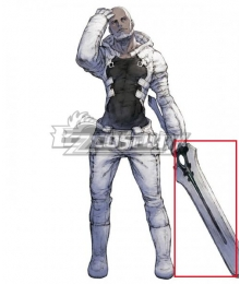 NieR Re[in]carnation Reincarnation Man Clothed in White Cosplay Weapon Prop