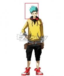 Anonymous;Code Pollon Takaoka Blue Cosplay Wig