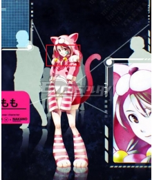 Anonymous;Code Momo Aizaki Pink Cosplay Wig