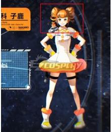 Anonymous;Code Bambi Kurashina Orange Cosplay Wig