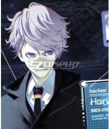 Anonymous;Code Hent Horihisa Purple Cosplay Wig