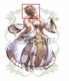 Octopath Traveler Conquerors Of The Continent Helminia Cosplay Accessory Prop