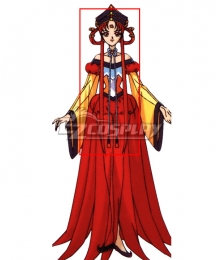Sailor Moon Sailor Kakyuu Red Cosplay Wig