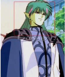 Sailor Moon Fiore Green Pink Cosplay Wig