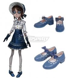Identity V Gardener Emma Woods Boudoir Dream Halloween Blue Cosplay Shoes