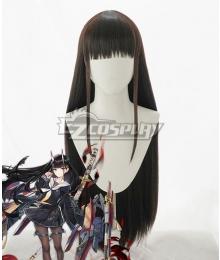 Azur Lane Noshiro Brown Black Cosplay Wig