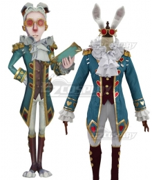 Identity V Lawyer Freddy Riley Mr. Bunny Halloween Cosplay Costume