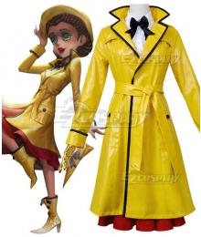 Identity V Doctor Emily Dyer Rhythm of The Rain Halloween Cosplay Costume