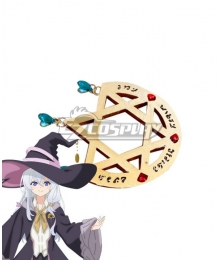 Wandering Witch: The Journey of Elaina Brooch Cosplay Accessory Prop