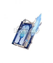Genshin Impact Klee Lisa Barbara Mona Sucrose Sacrificial Fragments Catalysts Cosplay Weapon Prop