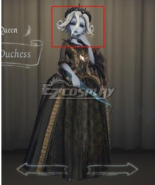 Identity V Bloody Queen Mary Accused Duchess Golden Halloween Cosplay Wig