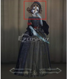Identity V Bloody Queen Mary Connoisseur Brown Halloween Cosplay Wig
