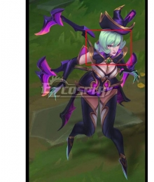 League Of Legends LOL Bewitching Elise Green Cosplay Wig