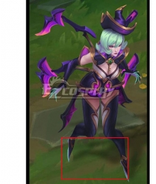 League Of Legends LOL Bewitching Elise Silver Copslay Shoes