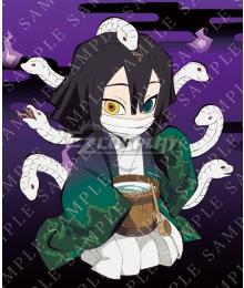 Demon Slayer: Kimetsu no Yaiba Happy Halloween 2020 Obanai Iguro Cosplay Costume