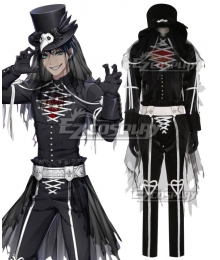Disney Twisted Wonderland Heartslabyul Ace Trappola Halloween Cosplay Costume