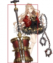 SINoALICE Little Red Riding Hood Hammer Cosplay Weapon Prop