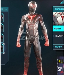 PS5 Marvel 2021 Spider-Man: Miles Morales Programmable matter Cosplay Costume
